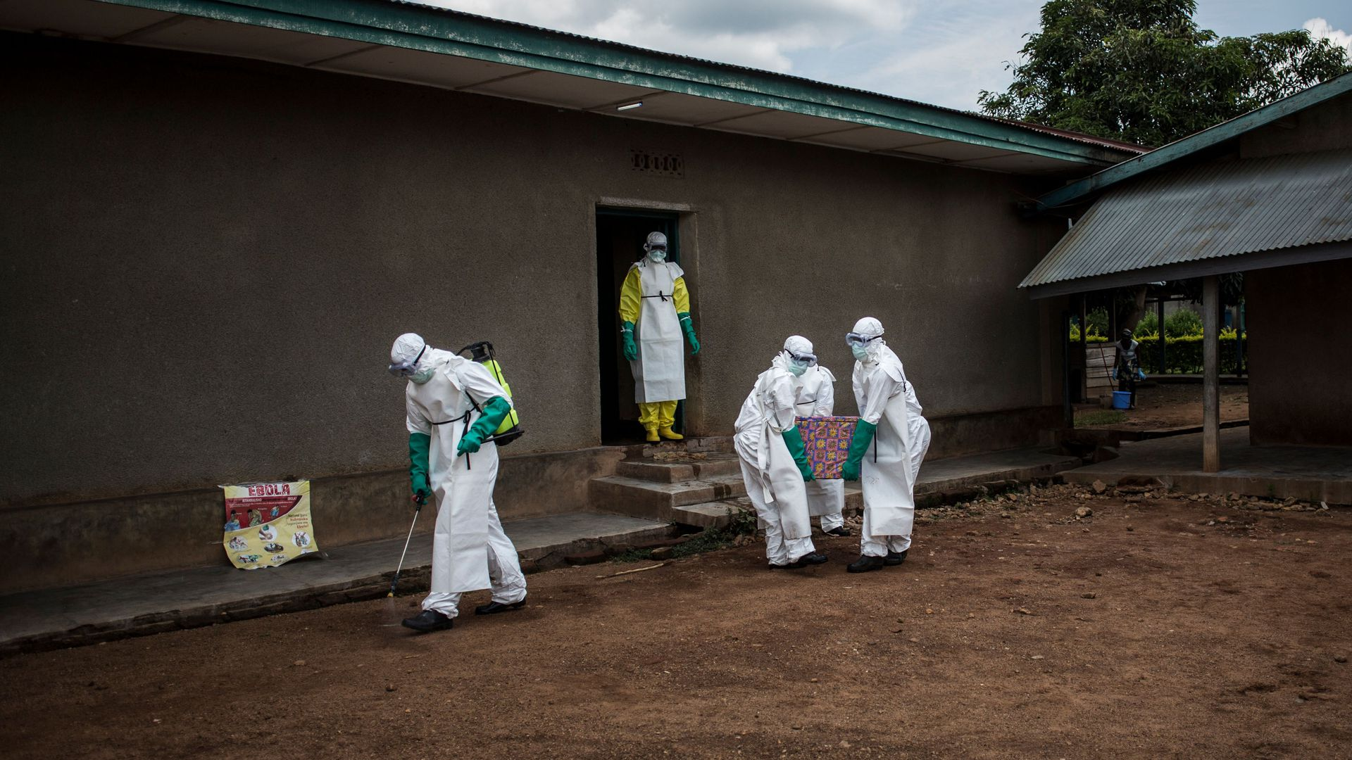 Ebola Increases In The Congo region Making Children And Women Sick
