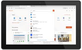 Windows 10 Microsoft Office Application Offers A Hub For All Your Work